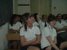 Charla en Colegio Santisimo Rosario