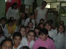 Charla en la Escuela República del Paraguay