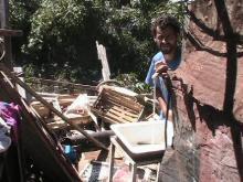 Canillas y Agua para Consumo en barrio Mangrullo (Rosario)