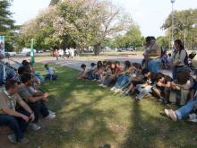 Apertura zonal 2008 y Campamento de la comunidad