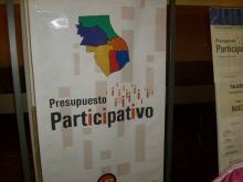 Presupuesto Participativo - Participación en la asamblea de vecinos 2008