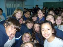 Charla en la Escuela Nº 1376 San Antonio