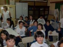 Charlas en la Escuela Nº 150 Cristóbal Colon