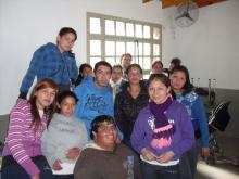 Charla en la Escuela Marcelino Champagnat