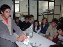 Taller en el II Foro Joven (ciudad de San Lorenzo)