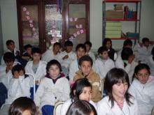 Charla en la Escuela Nº 61