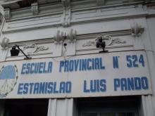 Charla en la Escuela Nº 524 Estanislao Luis Pando