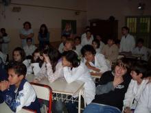 Charla en la Escuela Nº 66