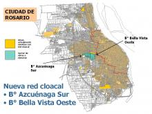 REDES CLOACALES PARA LOS BARRIOS AZCUENAGA SUR Y BELLA VISTA OESTE